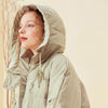 Womens Winter Down Coat Woman Hooded Long Jacket