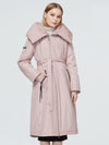 Womens Winter Fashion Winter Long Coat  fashion thick Jacket hooded large sizes lacing female clothing