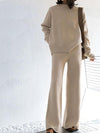 Ashoreshop Sweater Matching  2 Piece Pant Suits For Women