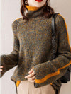 Ashoreshop loose and lazy melange Yearn wool sweater