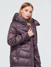 2020 Plus Size Womens Elegant Winter Coat fashion Jacket hooded Bio-Down female clothing