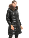ASHORESHOP 2020 Top Quality Winter Women's Hooded Warm Real Fox Fur Collar