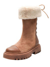 Snow Boots Winter thick-soled middle boots winter plus velvet thick cotton shoes