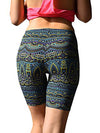 ASHORESHOP Sports Short Pants Beach Yoga leggings Womens Print Sport Pants