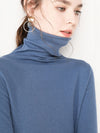 ASHORESHOP cashmere sweater women's casual long-sleeved turtleneck wool