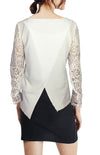 ASHORE WOMENS APART LACE  BLOUSE TOPS