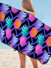 Beach towel beach blanket pine apple beach blankets Pineapple Bath Towel