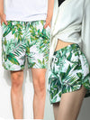 His and Hers Heart Together Swimwear Surf Swimming Shorts For Men Women