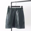 High Quality PU faux leather Mini Skirts in Multiple Colors