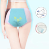 ASHORESHOP Women  Female Cotton Leak Proof Sexy Underwear Breathable Briefs for Girls Warm