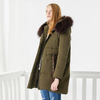 High Quality new winter thicken down jacket long parka for women