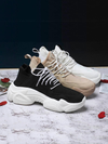 Women's Chunky Sneakers Basket Women Casual Platform Shoes