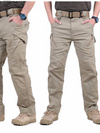 Mens Cargo Outdoors Pants Casual Cotton Trousers