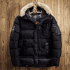 Fur Collar Parkas Winter Army Jacket Men Military Down Overcoat