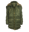 ASHORE Designer Bib Warm Parker with Zipper Open Varsity Fur Hood