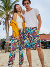2019 Couple Matching Swimwear Swim Trunks Beach Board Short and Pants