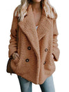 2020 Winter Coat Women Fluffy Teddy Jacket