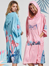 Spring Summer Autumn Fashion Hooded Beach Towel Cloak Adult