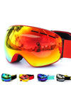 ski goggles double layers UV400 anti-fog big ski mask glasses skiing snow men women snowboard goggles