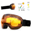 Top Quality ski goggles double layers UV400 anti-fog big ski mask glasses skiing snow men women snowboard goggles
