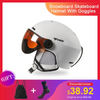 Ski Helmet ASHORESHOP Colorful Skiing Helmet Integrally-Molded PC+EPS