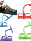 Home Workout Fitness Gum 4 Tube Resistance Bands