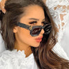 Vintage Square Sunglasses Women  2020 New Luxury Brand Black Sun Glasses