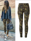 High Quality Stretchy Cotton Camo Jeans with Cargo 3XL