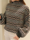 New Striped Sweater Thick Sweater Long Sleeve Pullovers