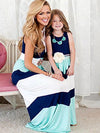 ASHORESHOP Mommy Daughter Heart Together Matching Dress