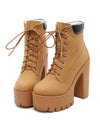 Women Autumn Winter Platform Ankle Boots