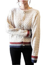 Women Thick Woolen Sweater Cardigans 2019