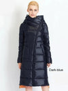 Women's Hooded Long Warm Parkas Bio Fluff Parka Coat