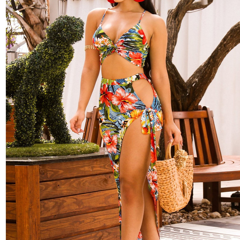 Women summer Vacation 6 piece set women two piece outfits