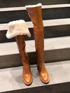 Hot Winter boots 2020 autumn and winter new British style high boots over the knee boots women