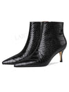 Ashoreshop Celebrity Women Poity Toe Pointy Heel Booties