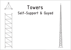 Towers - Self-Support & Guyed