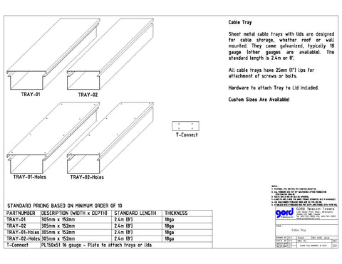 Cable Tray Catalog