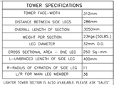 G-32 Tower Section