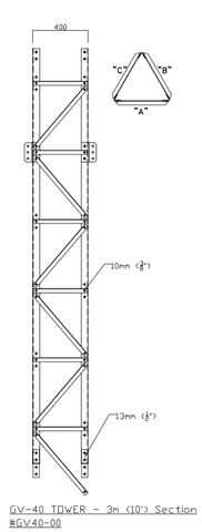 GV-40 Tower Section