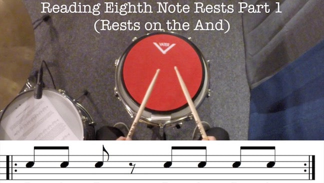 Full Lesson - Reading Eighth Note Rests Part 1
