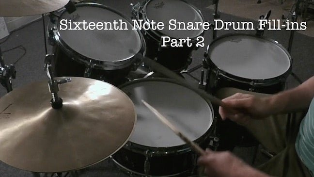 Preview - Sixteenth Note Fill-ins Part 2