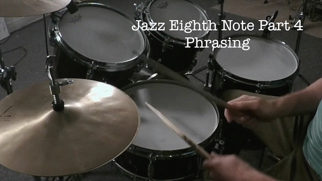 Preview - Jazz Eighth Note Part 4  - Phrasing