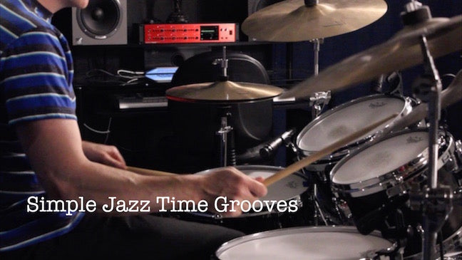Full Lesson - Simple Jazz Time Grooves