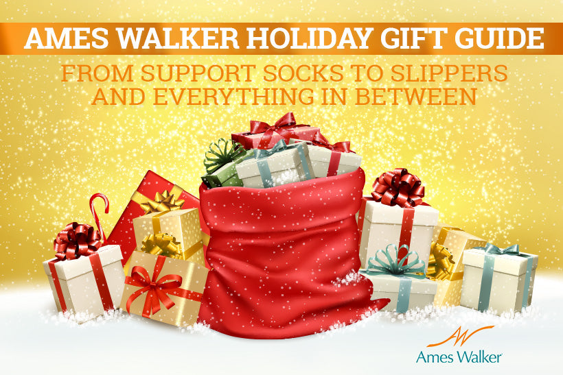 Ames Walker Holiday Gift Guide: From Support Socks to Slippers and Everything In Between