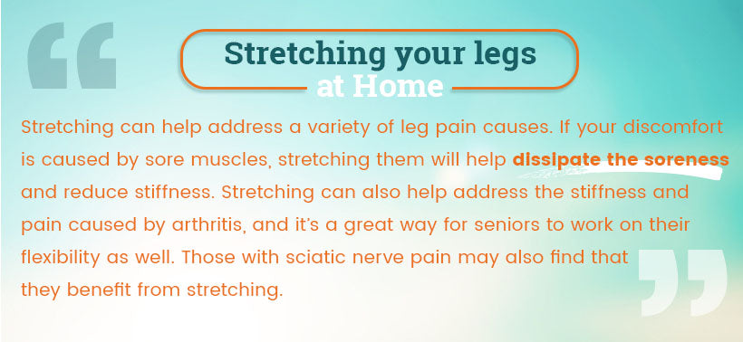 Stretching your legs quote