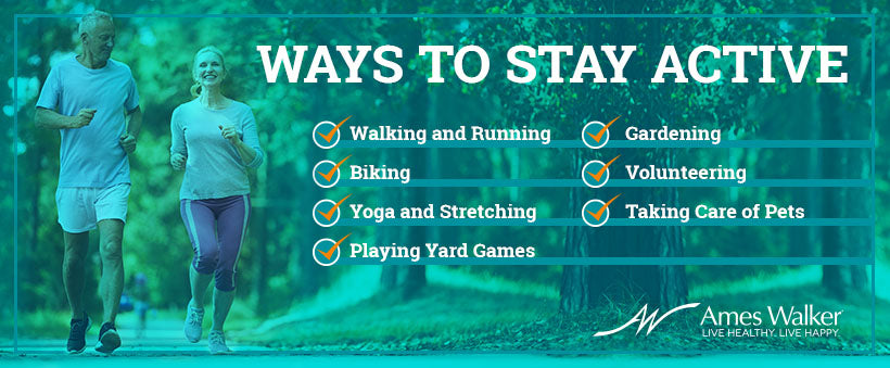Ways to stay active