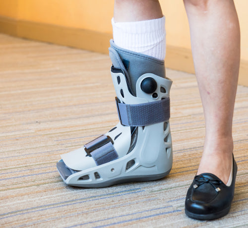 ankle brace air cast