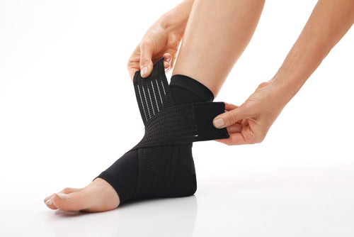 compression wrap around ankle