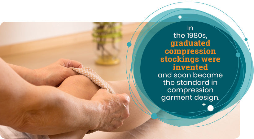 graduated compression stockings quote